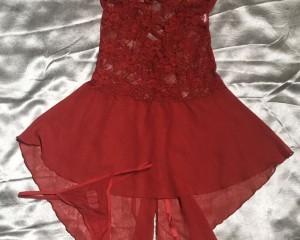 Camisola  detalhe bico - Vermelho - M